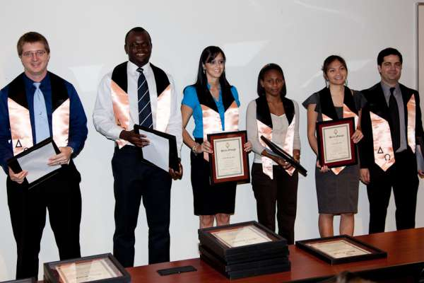 student inductees 2011