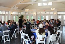 Delta Omega Induction Ceremony Luncheon